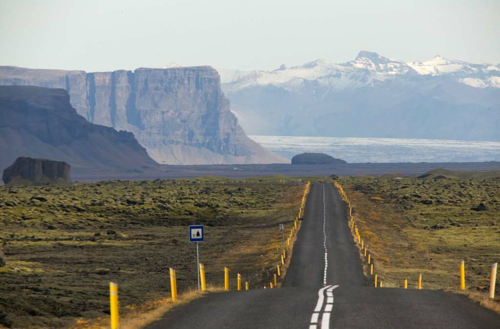 Ring road Route 1 in Iceland